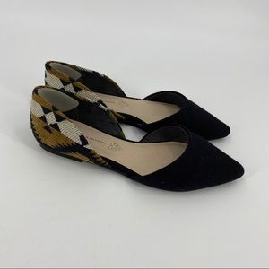 BC footwear tribal d'orsay pointed toe flats